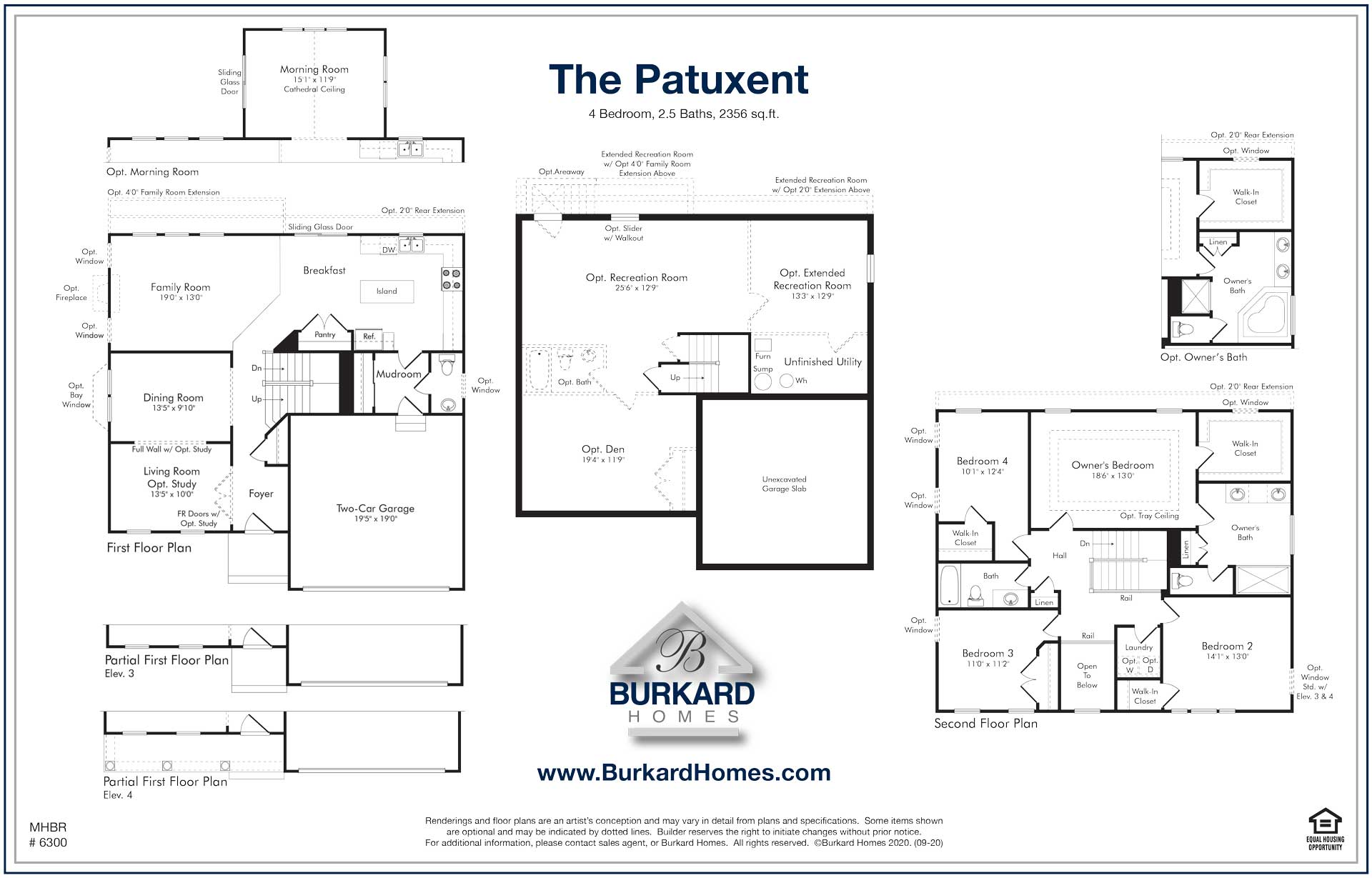 Burkard Homes Patuxent Floor Plan